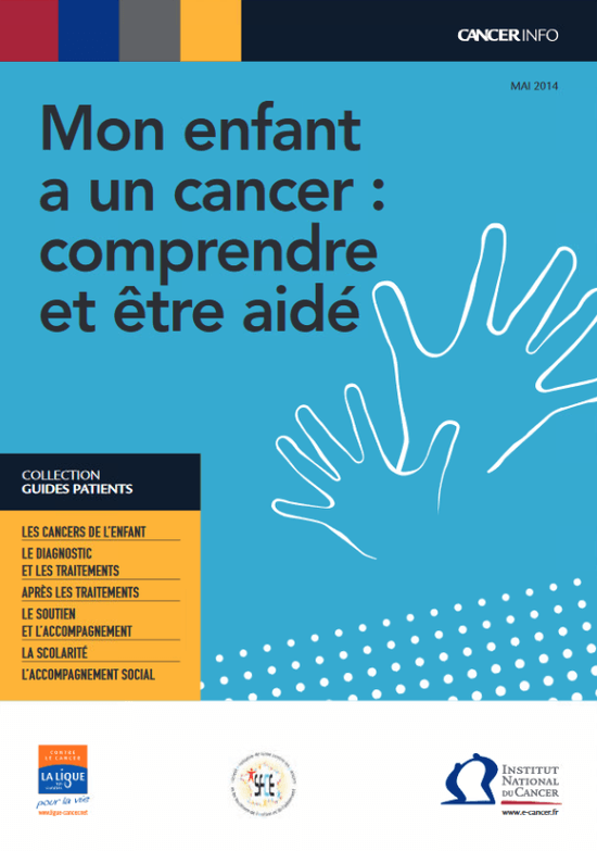 Mon enfant a un cancer : comprendre et être aidé